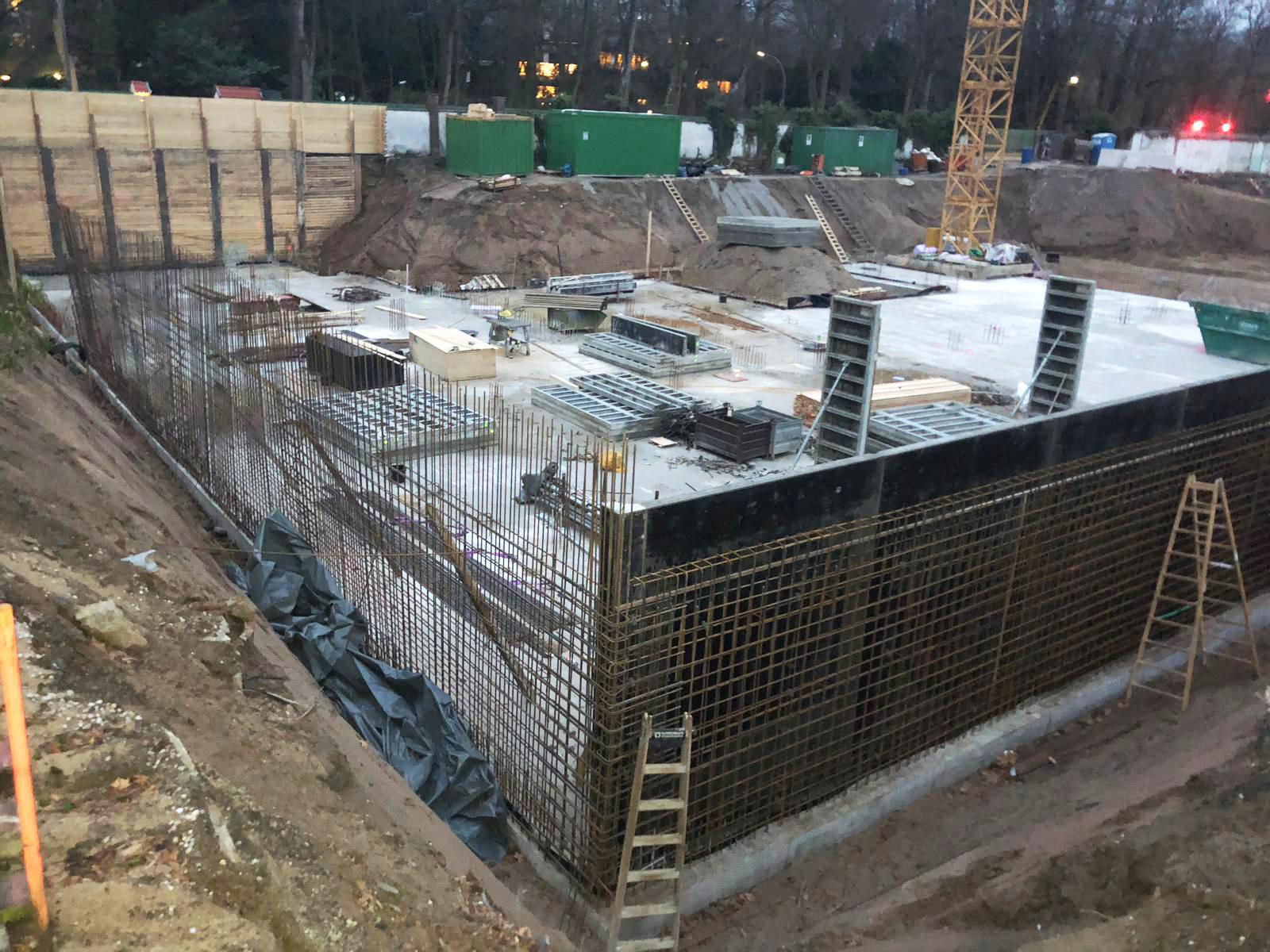 Secrets Marienburg: Der Beton fließt