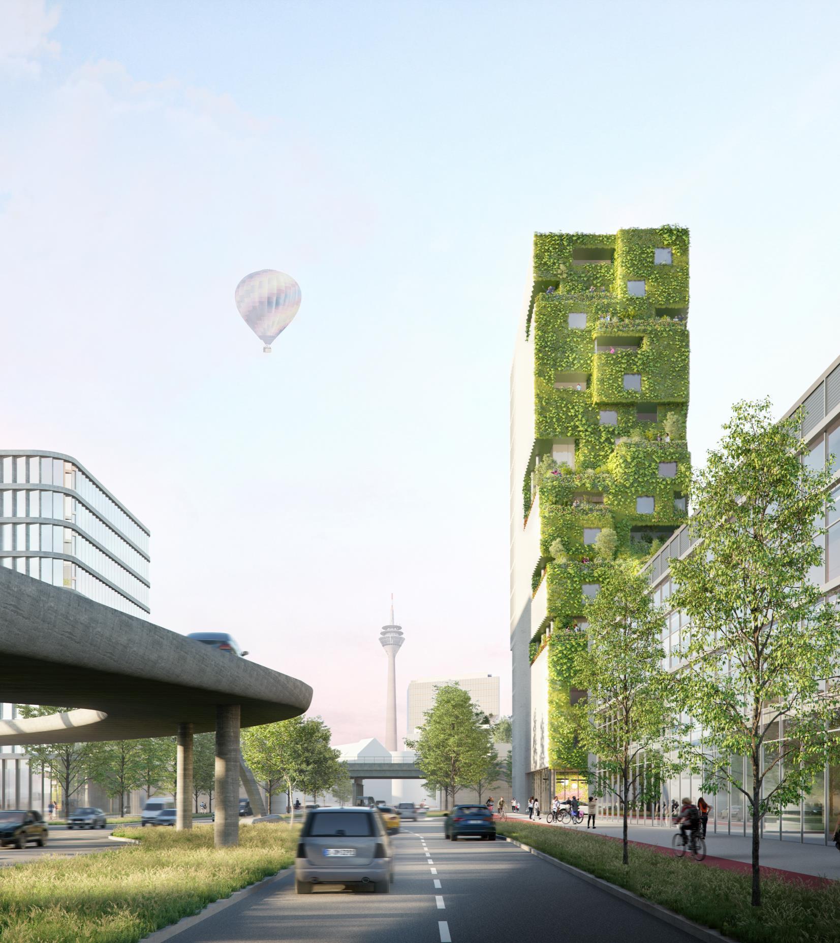 Bilker Westend: Grünes Licht für Hochhausprojekt